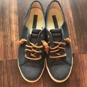 Lightly wore Sherry Top-siders